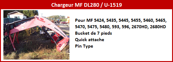 Chargeur MF DL280